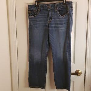 American Eagle Boy Fit Jeans Size 8